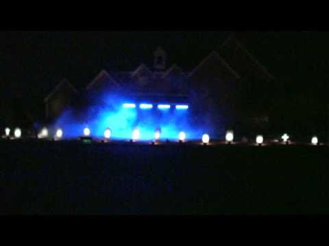 Halloween light show, 2010 animated light show No One Lives Forever
