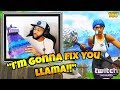 Daequans Hilarious Reaction to the *NEW* Llama Nerf!! Fortnite Funny and WTF Moments