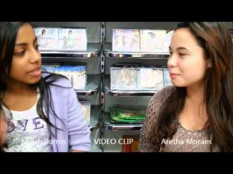 cantora Millah Barros e cantora Aretha Moraes - O VIDEO CLIP