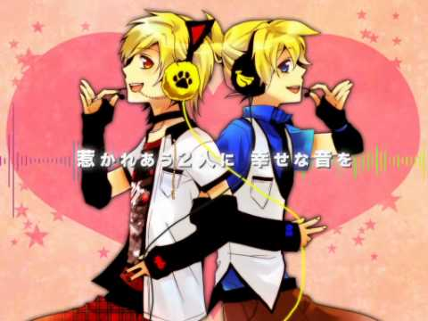 96neko,Len - Happy Synthesizer [English Lyrics]