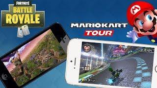 FORTNITE & MARIO KART Mobile fürs Smartphone! iOS / Android / neue Projekte