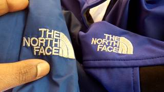 Original vs. Fake North Face Jacket in EU