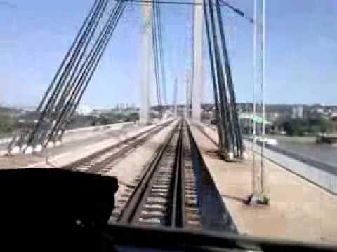 Novi Savski Most Beograd bg Voz Novi Beograd Beograd