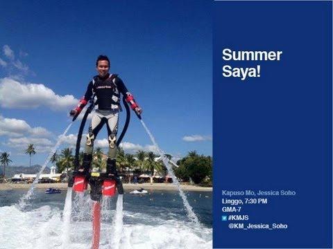 'KMJS:' Hydro-jet surfing, patok na summer activity