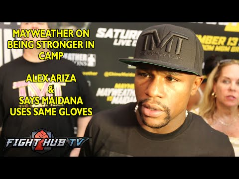 Floyd Mayweather Maidana is trying to pull a Margarito type move