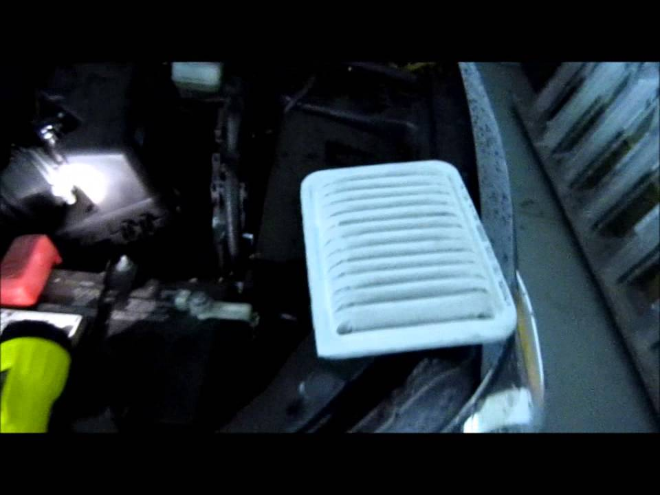 How To Change The Engine Air Filter On 2009 2013 Toyota