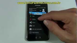 Como gravar ligações no seu celular Android
