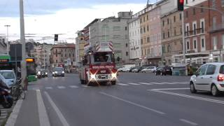 APS + AS VVF di Ancona in Emergenza / Italian Fire Brigade in Emergency