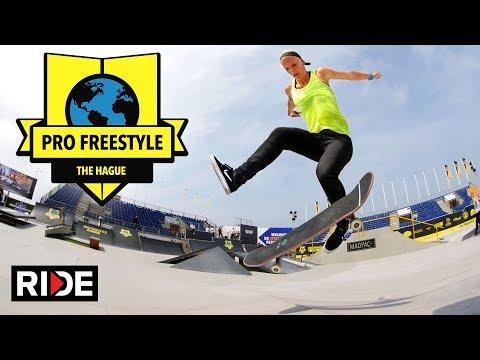 Hague Pro Freestyle Beach 2017 - Best Trick and Girls Finals
