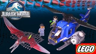 Building: Jurassic World PTERANADON CAPTURE - LEGO set 75915