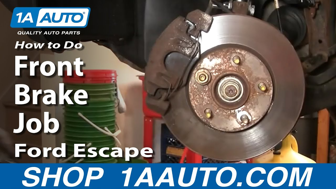 Brake Job Ford Escape