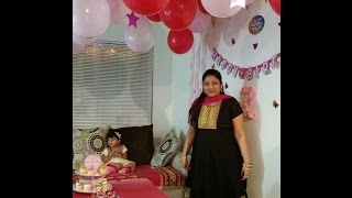 Hurrayyyy ..Its A Party Time..Birthday party Decor