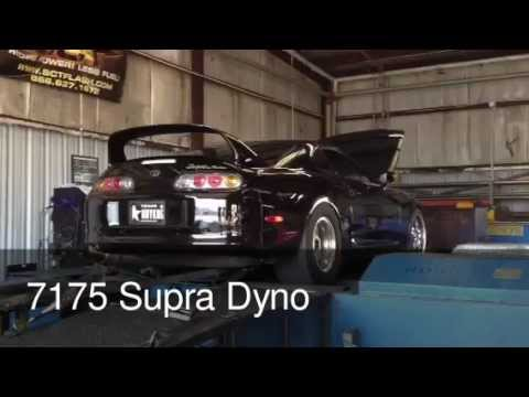 7175 Toyota Supra on the dyno and highway - 1000hp