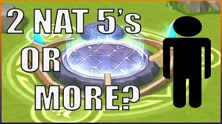 How Many Nat 5's Will I pull?