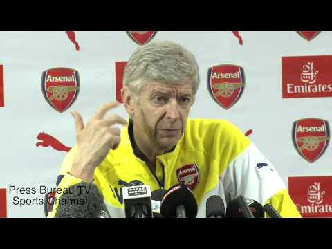 Arsene Wenger pre Brighton vs Arsenal