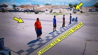 GTA V - Character Weight Myth