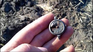 Мой коп на новом месте 25.08.2014 Search with a metal detector at the new location