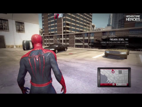 Let's Play The Amazing Spiderman - Part #4 [HD] Rhinos Rampage