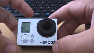 Сброс камеры GoPro Hero 3+ Black Edition