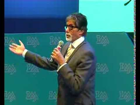 Amitabh Bachchan reciting Madhushala in indore