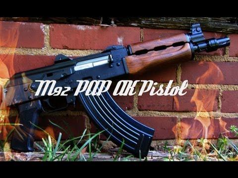 M92 PAP (Zastava) AK47 Pistol HD Review
