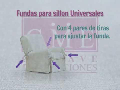 Funda de sillon universal un cuerpo youtube - Fundas para cochecitos de bebe ...