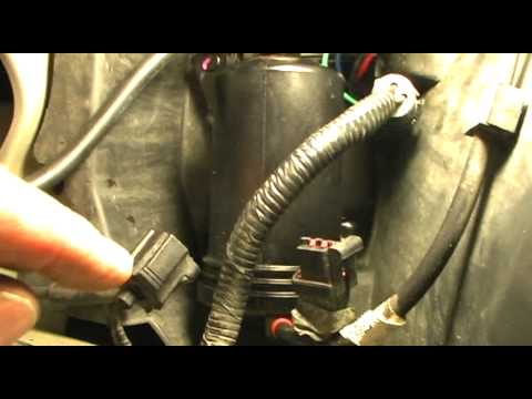 air suspension compressor change  grand marquis youtube