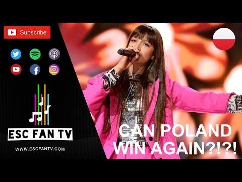 Junior Eurovision 2019 Poland Review | Viki Gabor - Superhero
