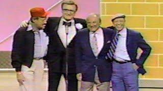 Steve Allen Don Knotts Tom Poston Bill Dana Comic Relief '87 [1987]
