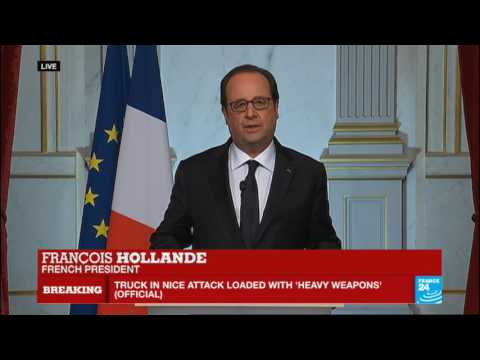 "Nice attack - French President François Hollande addresses nation: ""France is horrified"""