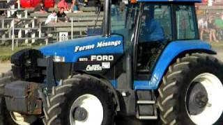 Ford 8870 pulling St-Damase 2010