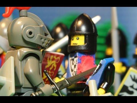1415 lego battle of agincourt hundred years war youtube for Siege lego france