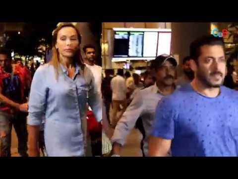 Salman Ulia Caught on Airport together !|| सलमान और यूलिया पकडे गए एयरपोर्ट पैर पर जाने क्यों देखे