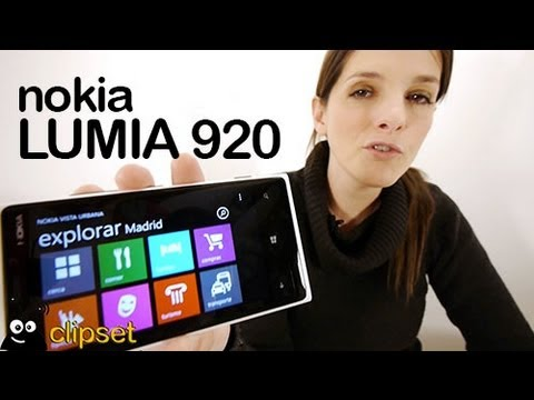 Nokia Lumia 920 review análisis en vídeo