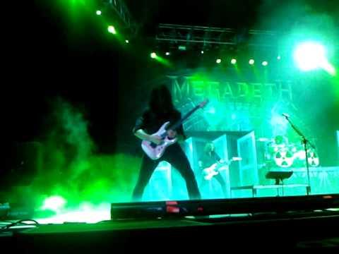 Megadeth - Chris Broderick Tornado of Souls solo 8/23/10