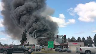 Roy Y Auto Wrecking Fire - May 4, 2015