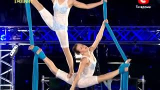 Україна має талант 5.Воздушные акробаты