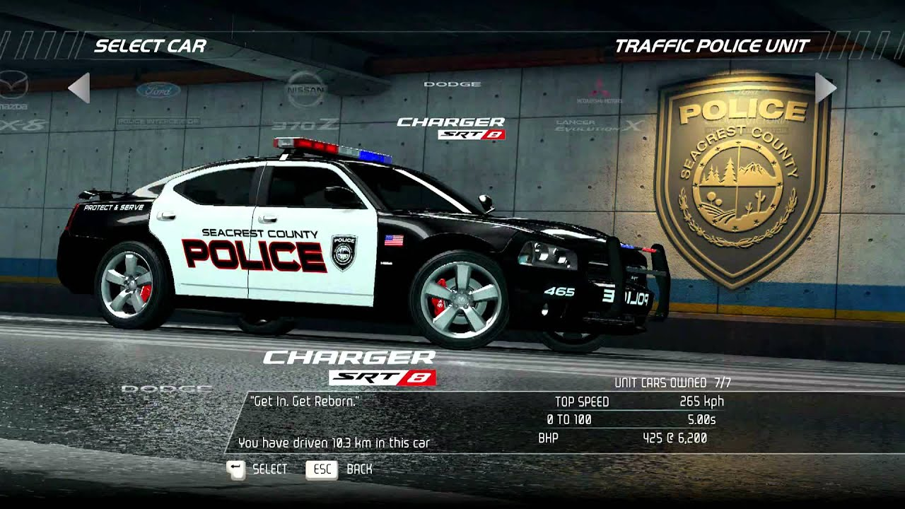 Need For Speed Hot Pursuit 2010 Full Car List Racer