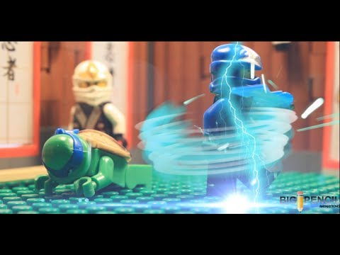 Lego Ninjago Rebooted 2014 Battle Torunament Jay Vs Tmnt