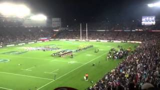 New Zealand National Anthem - Eden Park