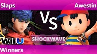 SW 103 - SWG   Slaps (Ness) vs SS   Awestin (Ness) Winners - Smash 4