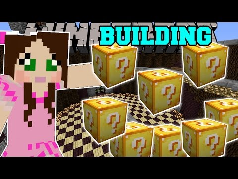 Minecraft: BUILDING CHALLENGE GAMES - Lucky Block Mod - Modded Mini-Game