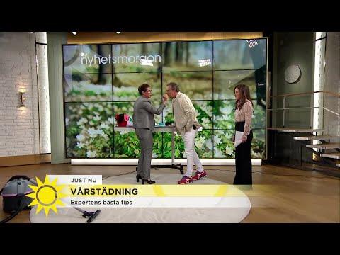 """Städexpertens frustration i studion: """"Klarar inte av att se det här"""" - Nyhetsmorgon (TV4)"""