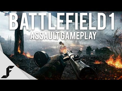 BATTLEFIELD 1 ASSAULT GAMEPLAY - Insane Graphics!