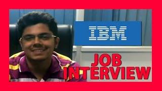 how to crack campus interview- IBM Job interview