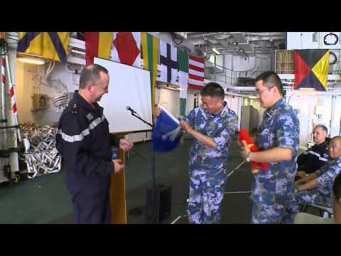 Joint exercise EUNAVFOR - Chinese PLA Navy