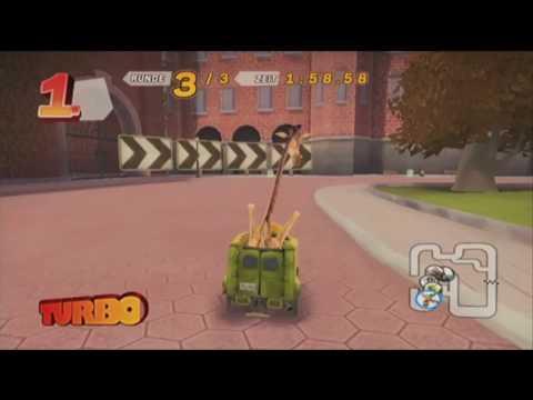 Madagascar Kartz . die ersten 10 Minuten . Wii . 2/2