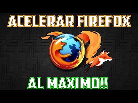 ACELERAR FIREFOX 2016 AL MAXIMO