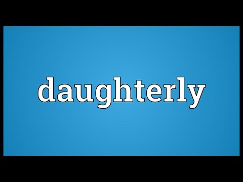 Header of daughterly