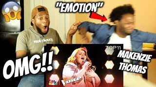 Makenzie Thomas Performs 34 Emotion 34 The Voice 2018 Live Top 11 Performances